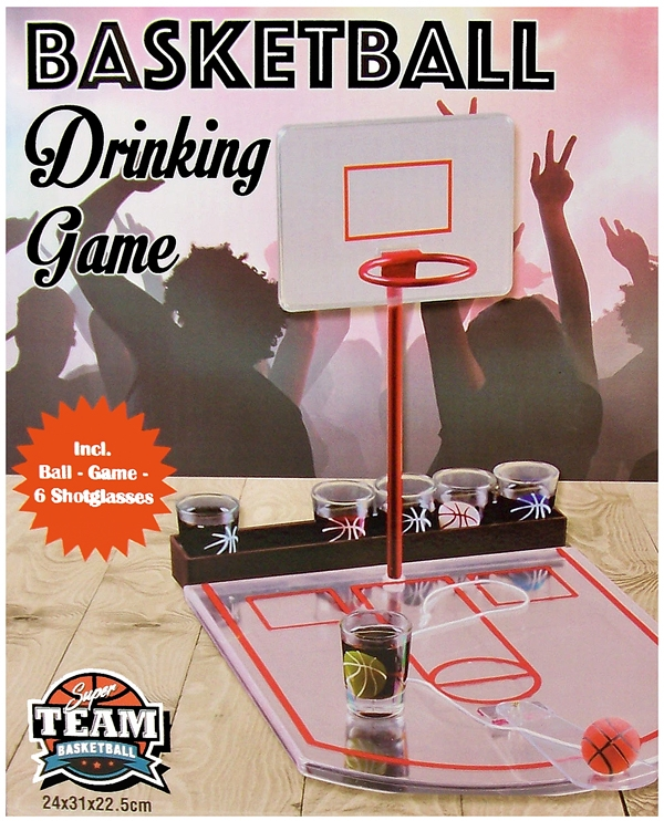 Basketball drinking game
