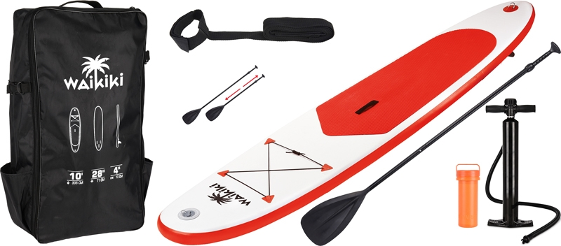 SUP Board Red Waikiki - 305 cm - complete set
