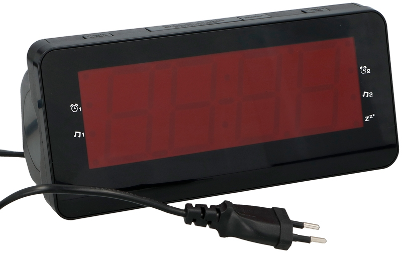 Dunlop Wekkerradio LCD display