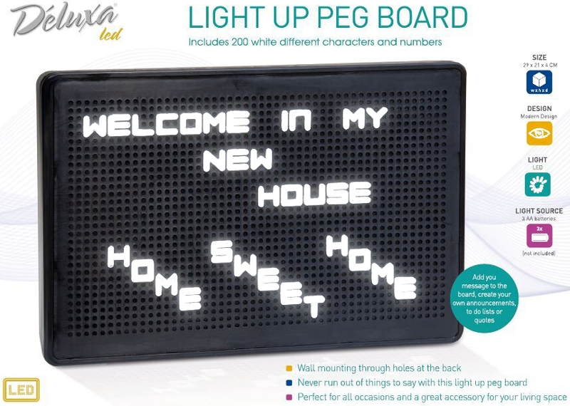 Retro Light board