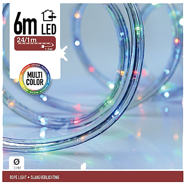 LED Lichtslang 6 meter multicolor