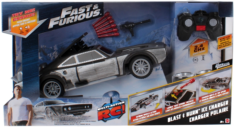 Fast & Furious RC Car - 40cm