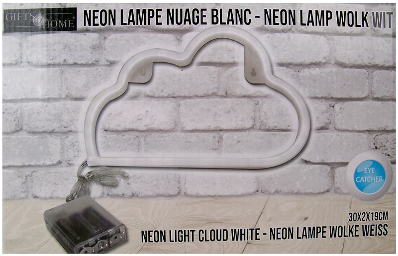 Neonstyle lamp - wolk