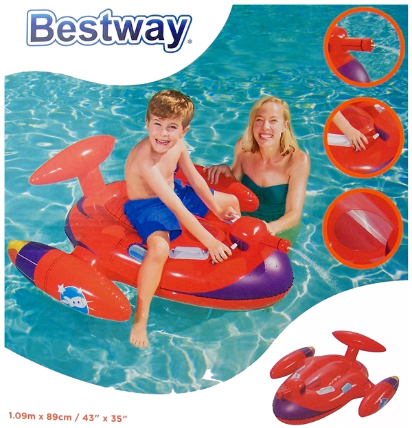 Bestway Space Splasher met sproeier